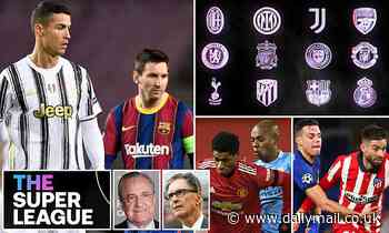European Super League: EVERYTHING you need to know on the move that could change football forever