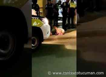 la policia detuvo a dos delincuentes en la esquina de marcos paz y maipu: video - Contexto