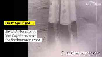 Yuri Gagarin: Sixty years since the first human went into space - Yahoo News UK