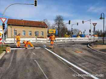 Baustelle Ahrensfelde - Mehrow B158 / L339 / L311 - Samstag fertig | Bernau LIVE - Dein Stadt- und - Bernau LIVE
