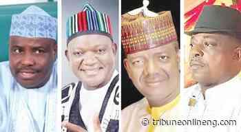 As angry PDP governors tackle Buhari, APC in Makurdi - NIGERIAN TRIBUNE