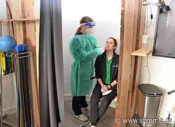 Erste Erfahrungen im Corona-Testzentrum Brackenheim - Heilbronner Stimme