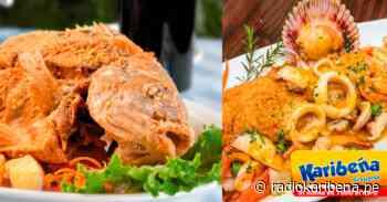 Aprende a preparar un rico Chita al Ajo y Tacu Tacu en salsa de mariscos - RADIO KARIBEÑA