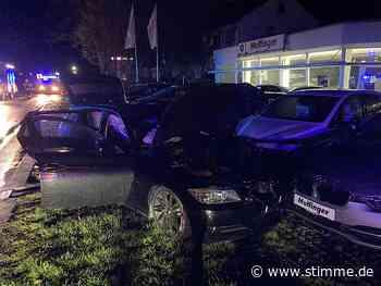 Ein Schwerverletzter nach Verkehrsunfall in Ingelfingen - Heilbronner Stimme