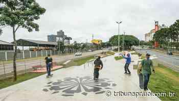 Curitiba tem nova pista de skate na Avenida Wenceslau Braz - Tribuna do Paraná