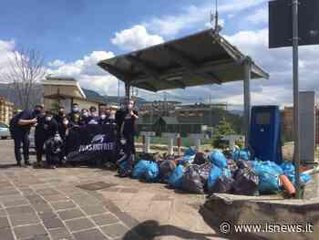 Isernia, 30 volontari in azione: San Lazzaro diventa 'Plastic Free' - isnews
