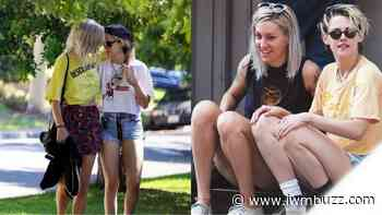 Beautiful Looks Of Kristen Stewart With Girlfriend Dylan Meyer, Have A Look - IWMBuzz
