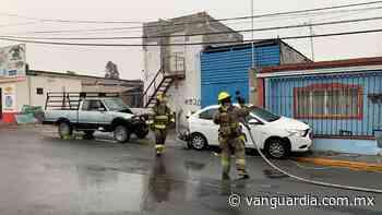 Escapa tras causar choque y fuga de gas en colonia Vista Hermosa de Saltillo - Vanguardia.com.mx