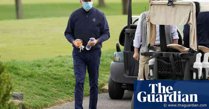 'Course record still intact': Biden on first underwhelming golf outing as president
