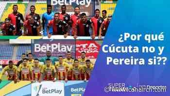 """""""¿Por qué Cúcuta no puede jugar y Pereira sí, que lleva años en liquidación?"""": Acolfutpro - Canal RCN"""