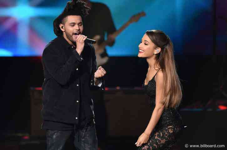 Save Your Tears, Because Ariana Grande & The Weeknd Seem to Be Teasing a Collab