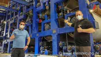 Energieunternehmen Benas aus Ottersberg stellt aus Abfallprodukten Kartons und Papier her - kreiszeitung.de