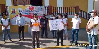 Autoridades de la municipalidad de Ascope donan más de 36 mil soles en colecta pública - La Industria.pe
