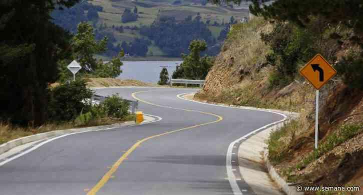 Se abre el anillo vial del lago de Tota en Boyacá - Semana