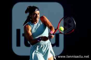 St-Malo (W125): Caroline Garcia, prudente, a un pied en Bretagne - Tennis Actu