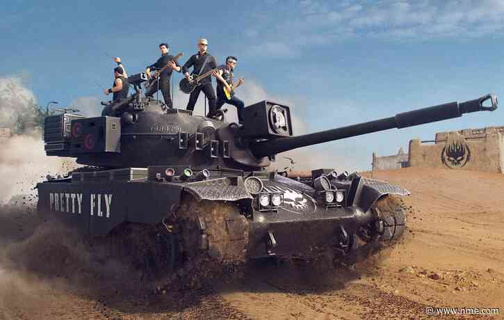 The Offspring appear in video game 'World Of Tanks' to celebrate new album