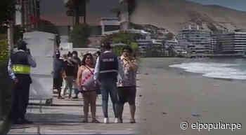 Aglomeración de personas fue controlada por el personal municipal de Ancón [VIDEO]   ElPopular.pe - ElPopular.pe