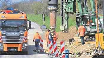 Sieben Jahre und zehn Brücken: Bau der Ortsumgehung von Bad Camberg ist im Gange - Rhein-Zeitung