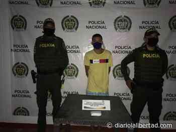 Alias 'Kevin', capturado por expender drogas en San Juan Nepomuceno - Diario La Libertad