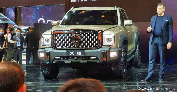 2021 GWM X Cannon: Hybrid full-size pick-up unveiled to rival Ram 1500 and Chevrolet Silverado