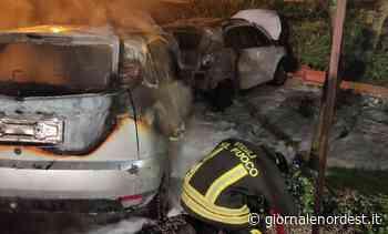 Rogo nella notte, bruciate due auto posteggiate a Preganziol - Giornale Nord Est