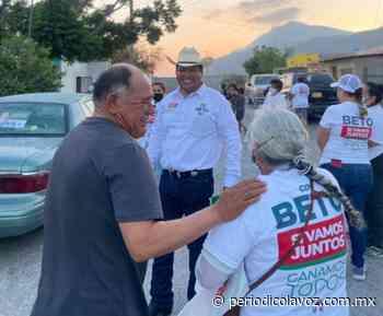 Reciben con agrado a 'Beto' Villarreal - Periódico La Voz