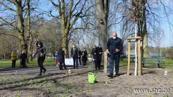 Eiland in Rendsburg: Gedenkstätte für Verstorbene in der Corona-Zeit offiziell eingeweiht | shz.de - shz.de