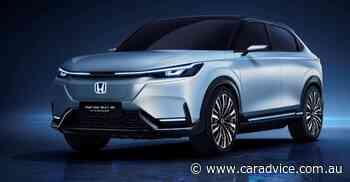 Honda SUV E:prototype revealed as electric HR-V successor