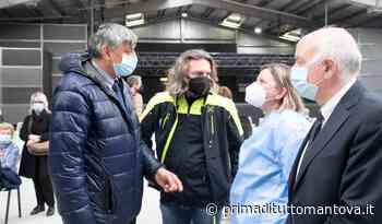 Assessore Foroni in visita agli hub di Mantova e Castiglione delle Stiviere - Prima Mantova