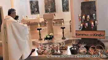 Dotternhausen - Ostergaben in Kirche gesegnet - Schwarzwälder Bote