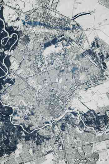 The Russian city of Orenburg • Earth.com - Earth.com