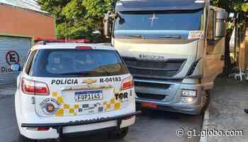 Suspeito de roubar caminhão em Itu é preso pela Polícia Rodoviária na região de Jundiaí - G1