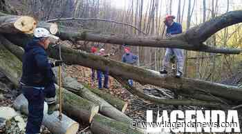 Protezione Civile della Val Sangone: a Giaveno CAI, ANA e Vigili del Fuoco a lavoro sul - http://www.lagendanews.com