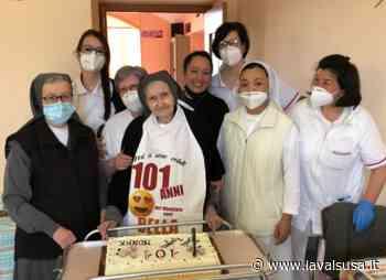 L'Istituto Maria Ausiliatrice di Giaveno in festa per i 101 anni di suor Maria - lavalsusa.it