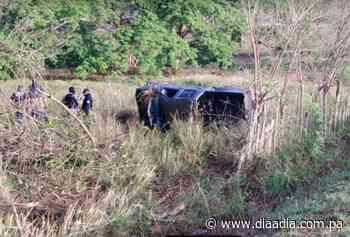 Dos heridos en vuelco en la vía Pesé-Chitré - Día a día