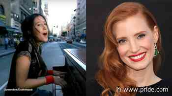 Did Vanessa Carlton Write 'A Thousand Miles' About Jessica Chastain? - Pride.com