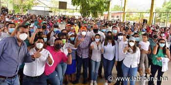"""David Chávez: Viene una """"revolución"""" de oportunidades para habitantes de Támara y Honduras - La Tribuna.hn"""