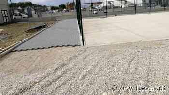 Proseguono i lavori di riqualificazione a Fontanelle: prende forma il nuovo campo di calcetto - IlPescara