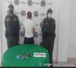Capturan a mujer en Pácora por querer ingresar marihuana a la cárcel - La Patria.com