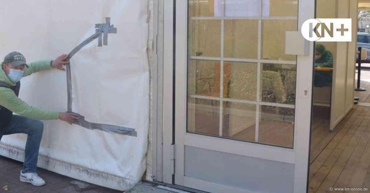 Skurriles Diebesgut bei Einbruch in das Testzentrum in Wahlstedt - Kieler Nachrichten