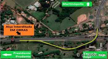Saída da Rodovia Raposo Tavares para a Rodovia Assis Chateaubriand terá desvio nesta terça-feira - G1