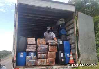 Polícia Rodoviária apreende mais de 4 toneladas de maconha em Rancharia - SBT Interior