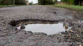 Pothole-related breakdowns hit three-year high, RAC claims