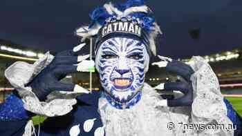 Geelong Cats fan Troy West calls time on 'Catman' after 16 years - 7NEWS.com.au