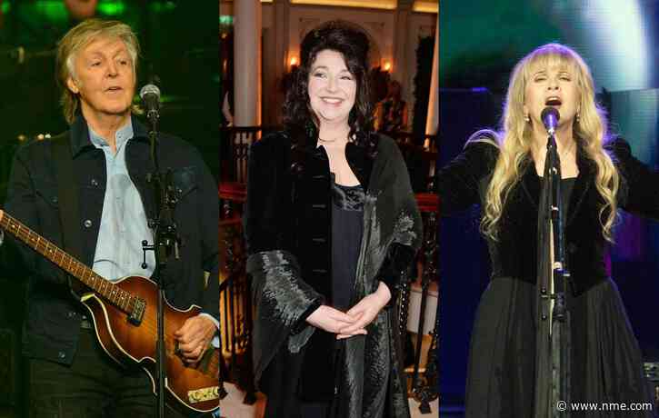 Paul McCartney, Kate Bush, Stevie Nicks and more sign letter calling on Boris Johnson to fix streaming economy