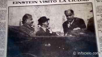 Albert Einstein en el Conurbano: de Alemania a Llavallol - Infocielo