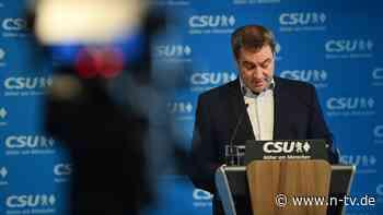 """""""Die Würfel sind gefallen"""": Söder gibt nach: Laschet wird Kanzlerkandidat"""