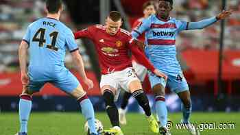 Odubeko learning from Lingard and Rice at West Ham United