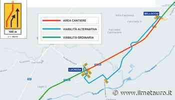 La superstrada tra Bellocchi e Calcinelli chiude per lavori - Il Metauro - Il Giornale del Metauro