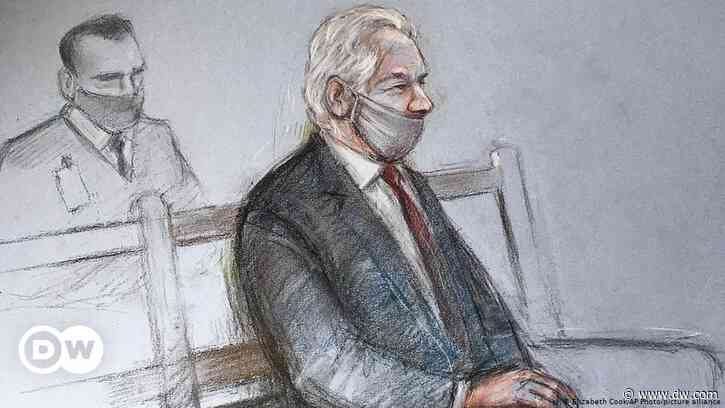 Ausgehöhlte Rechtsstaatlichkeit: Der Fall Julian Assange - DW (Deutsch)